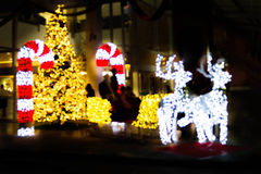 Shinny ноча рождества Стоковое фото RF