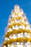 Shinny рождественская елка, абстрактная предпосылка Стоковое Изображение