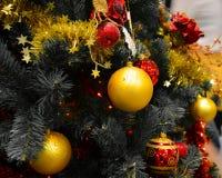 Shinny Balls of Christmas Royalty Free Stock Photography
