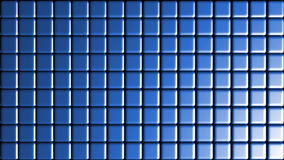 Shinny Blue Tiles Grid background Royalty Free Stock Photos