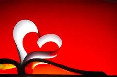 Shinny Buch der Liebe Stockfotos