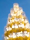 Shinny Christmas Tree, abstract background Stock Photo