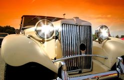 Shinny Classic Car Stock Images