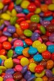 Shinny die Süßigkeiten, die oben pilled sind Stockfoto