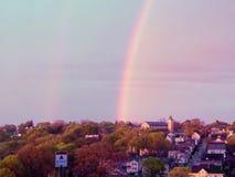 Shinny Regenbogen stockfotografie