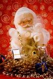 Shinny santa royalty free stock photo