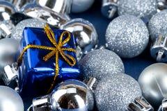 Shinny Weihnachtskarte Lizenzfreie Stockfotografie