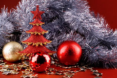 Shinny xmas background Stock Photography
