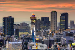 Shinsekai, Osaka Skyline Royalty Free Stock Image