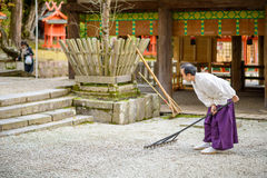 Shinto Priest Stock Images