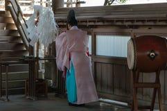 Shinto Priest Stock Image