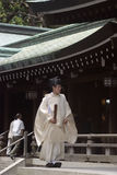 Shinto priest, Tokyo, Japan Stock Photos