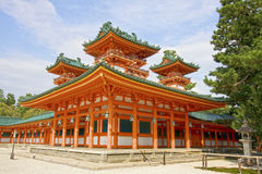 Shinto Shimogamo Shrine, Kyoto, Japan. stock photography