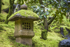 Shinto shrine in a garden Royalty Free Stock Image