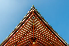 Shinto shrine or Japanese Temple's roof. Japan stock images