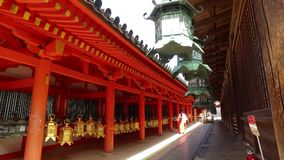 The Shinto shrine stock footage