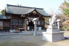 Shinto shrine - Matsue - Japan Royalty Free Stock Images