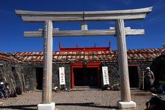 Shinto Shrine Mount Fuji Stock Image