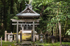 Shinto shrine in Nikko Royalty Free Stock Photos