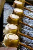 Shinto Shrine Purification Ladles Royalty Free Stock Photos