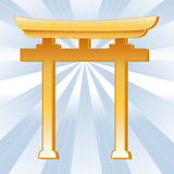 Shinto Symbol Royalty Free Stock Images