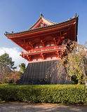 Shinto temple in Kyoto Stock Photos