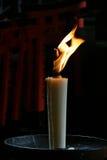 Shintoistische Kerze Lizenzfreies Stockbild