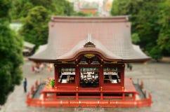 Shintoistische Tanz-Stufe Lizenzfreie Stockfotografie