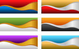 Shiny abstract backgrounds Stock Photography