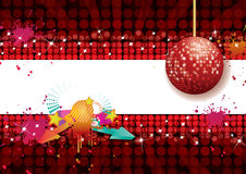 Shiny abstract party design Stock Photography