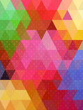 Shiny abstract triangles and little plus sign texture Royalty Free Stock Image