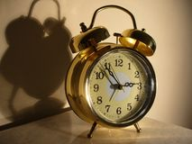 Shiny Alarm Clock Stock Images