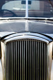 Shiny Antic Limousine Closeup of the Front Royalty Free Stock Photography