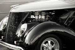 Shiny Antique Automobile Stock Photography