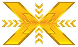 Shiny arrows Royalty Free Stock Photo