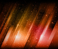 Shiny background. Vector Shiny background with glowing stars Royalty Free Stock Photo