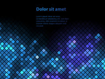 Shiny background with sequins Stock Image