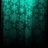 Shiny background with snowflakes. EPS 10. Vector file included Royalty Free Stock Photography