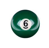 Shiny ball for billiard Stock Images