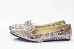 Shiny ballerines Stock Image