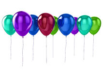 Shiny balloons Stock Photography