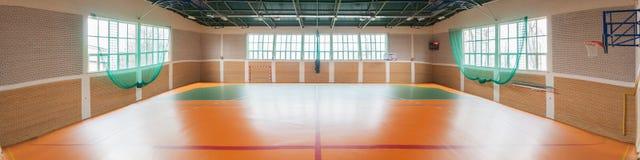 Shiny basketball gym Stock Photos