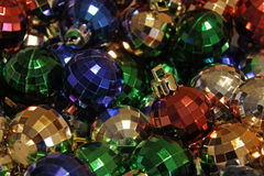 Shiny Bauble Pile Royalty Free Stock Photos