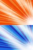 Shiny beams templates Stock Photos
