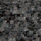 Shiny black and grey tiles royalty free illustration