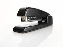 Shiny Black Stapler. A shiny, black, metal stapler Royalty Free Stock Images