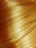 Shiny blond hair texture background Stock Photo