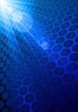 Shiny Blue Background Stock Photos