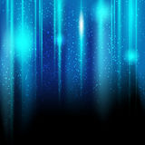 Shiny blue background. With place for your text Royalty Free Stock Images