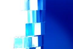 Shiny blue background Royalty Free Stock Photos